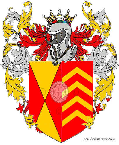 Coat of Arms of family Quinzilli