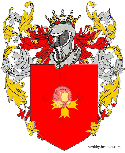 Coat of Arms of family Reverendo Rolfi