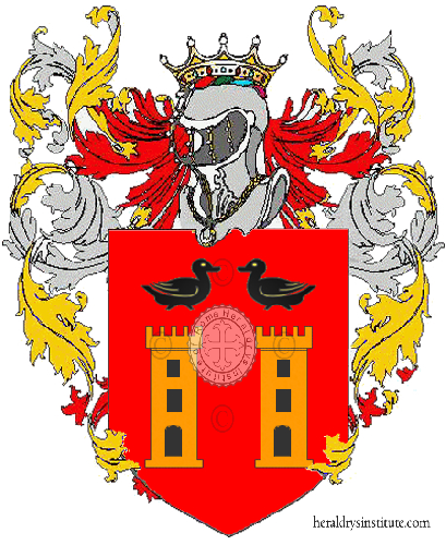 Coat of Arms of family Cascetta