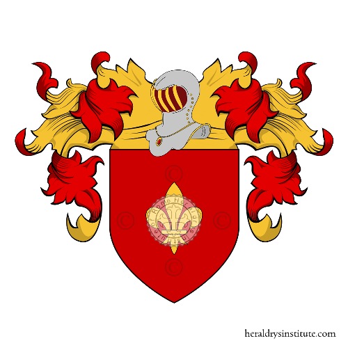 Coat of Arms of family Saccaria