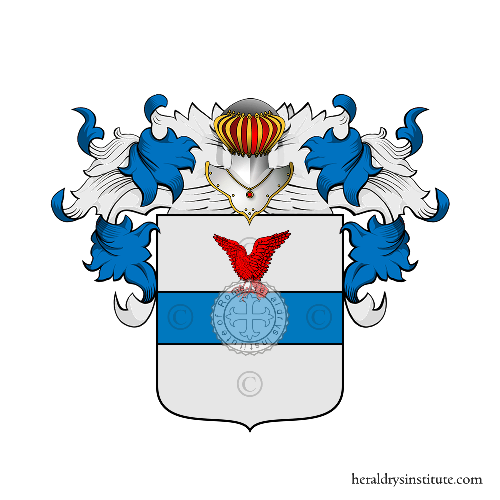 Coat of Arms of family Sangineti