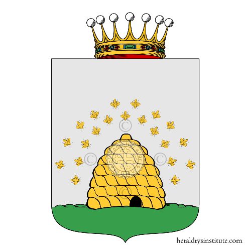 Coat of Arms of family Melisa