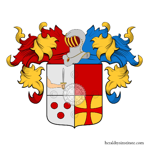 Coat of Arms of family Ruggieri o Ruggeri (Veneto)