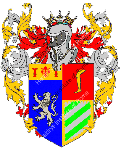 Coat of Arms of family Verracina