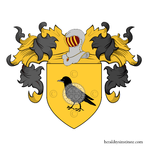 Coat of Arms of family Domenico (di)