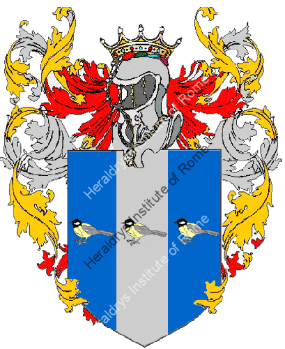 Coat of Arms of family Pallegri