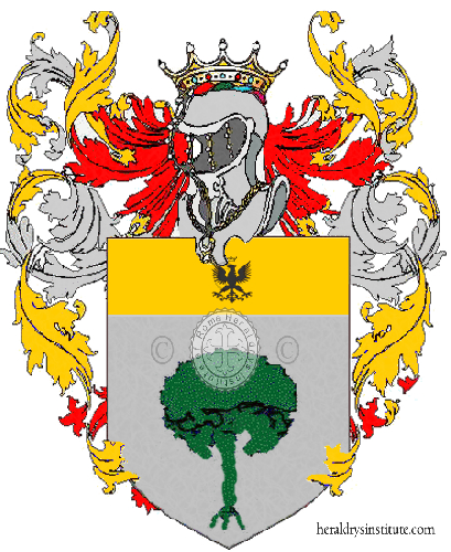 Coat of Arms of family Varosio