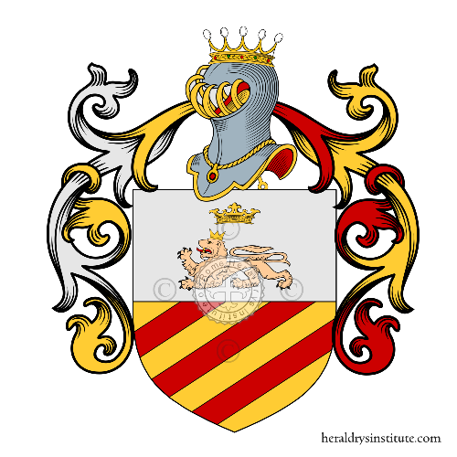 Coat of Arms of family Tepori