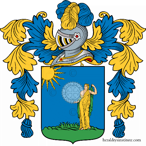 Coat of Arms of family Sibillano