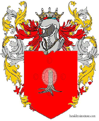 Coat of Arms of family Pagio