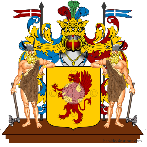 Coat of Arms of family Kunz Romann Adsb