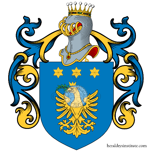 Coat of Arms of family Rodaro
