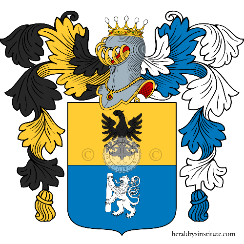 Coat of Arms of family Ruzzi
