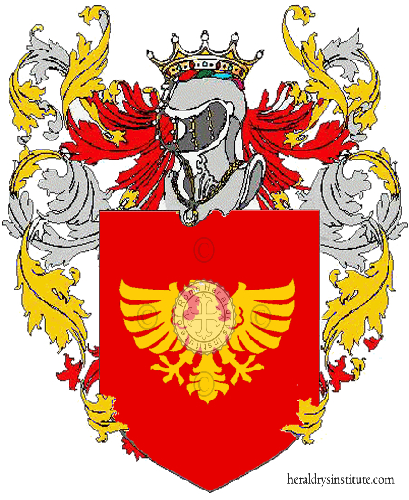 Coat of arms of family Primanota
