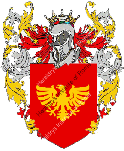 Coat of arms of family Primarini