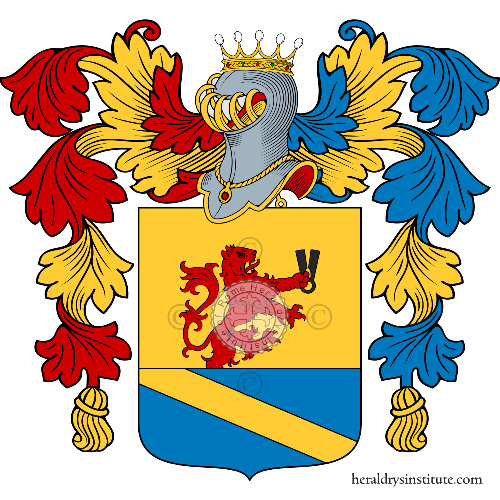 Coat of Arms of family Partori