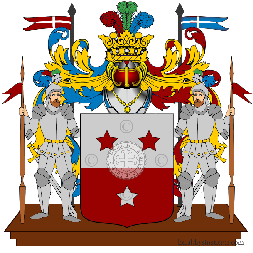 Coat of Arms of family Rasso