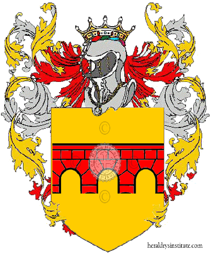Coat of Arms of family Ponton