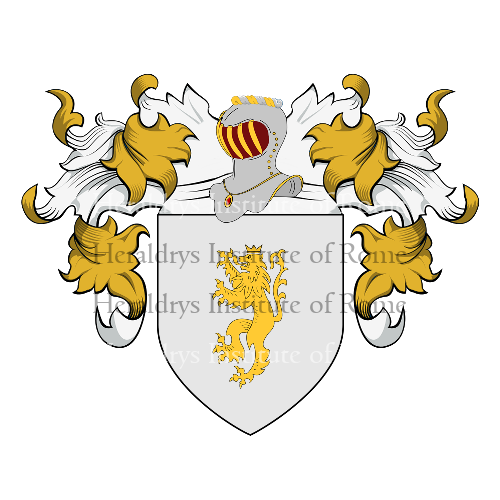 Coat of Arms of family De Lucia