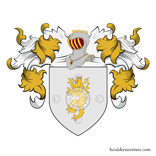 Coat of Arms of family Delucia