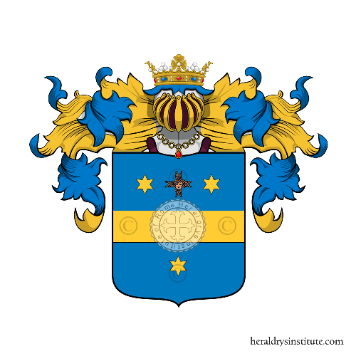 Coat of Arms of family Seraffini