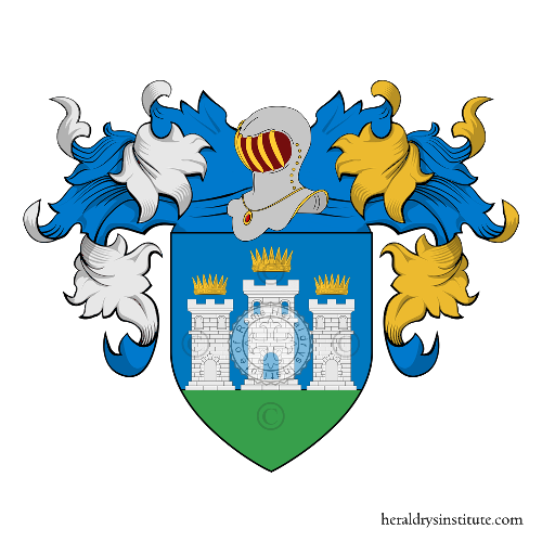 Coat of arms of family Cariani