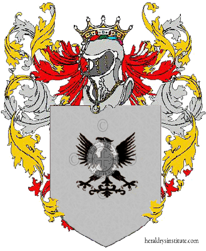 Coat of Arms of family Pavanelo