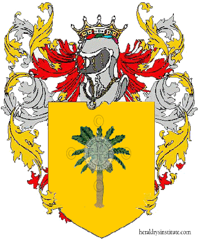Coat of arms of family Zoco