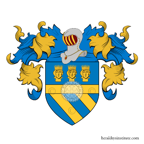 Coat of Arms of family Dameno