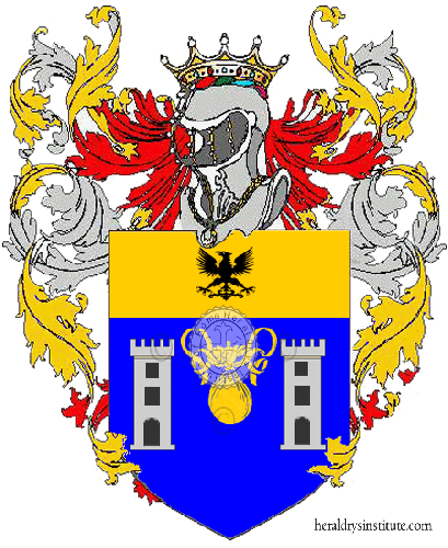 Coat of Arms of family Mercatili