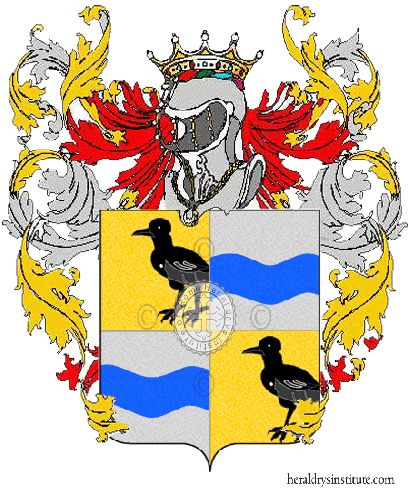 Coat of Arms of family Tica