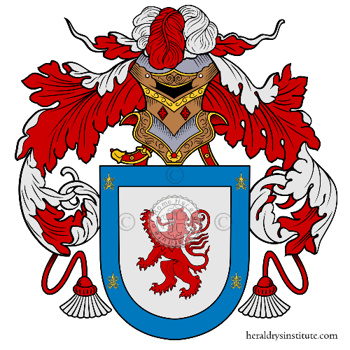 Coat of arms of family Seròn