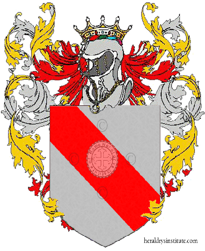 Coat of arms of family Zavoretti