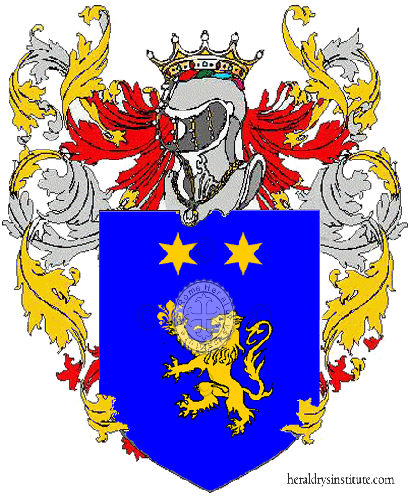 Coat of Arms of family Diello