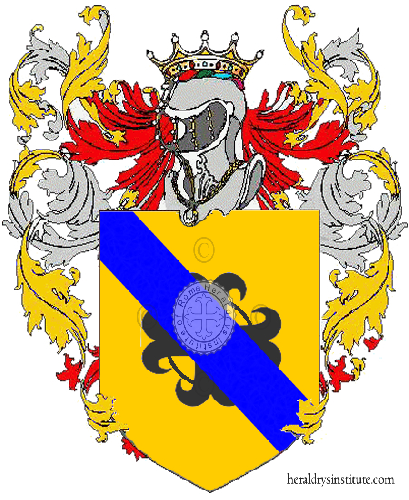 Coat of Arms of family Moriso