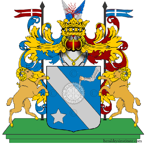 Coat of arms of family Smanno
