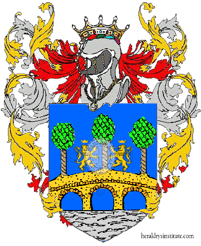 Coat of Arms of family Platani