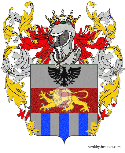 Coat of arms of family Ceriani Sebregondi
