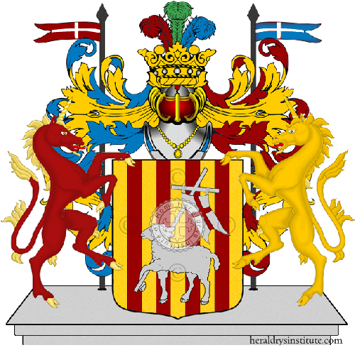 Coat of Arms of family Spasquale
