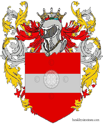 Coat of Arms of family De Tommaso