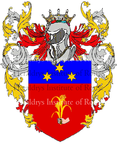 Coat of Arms of family Nelina