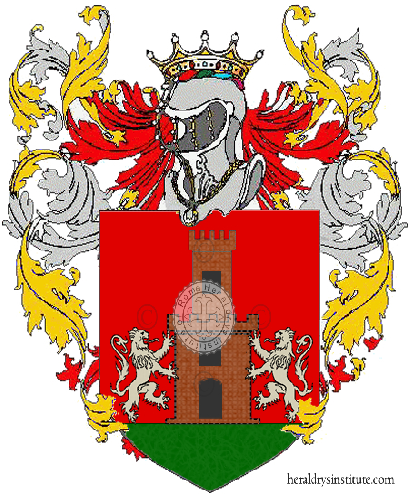 Coat of Arms of family Spaniati