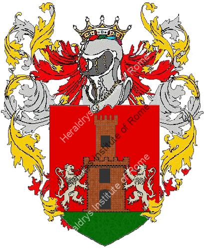 Coat of Arms of family Spanio