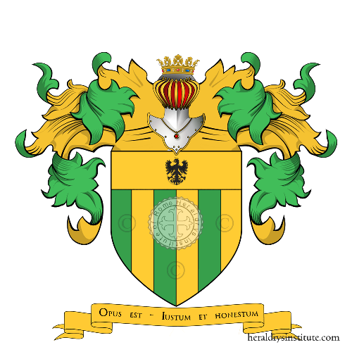 Coat of Arms of family Corti