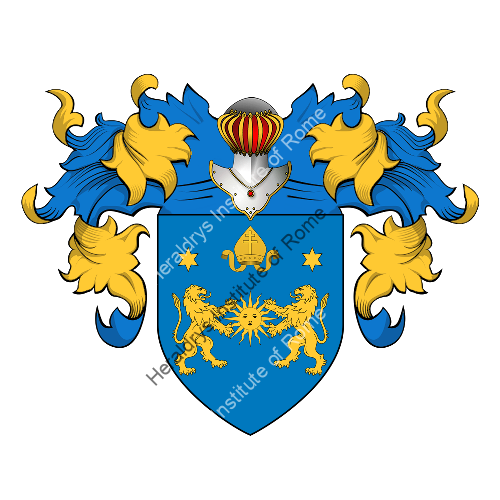 Coat of Arms of family Pretelli
