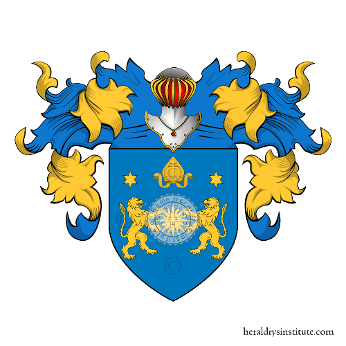 Coat of Arms of family Prette