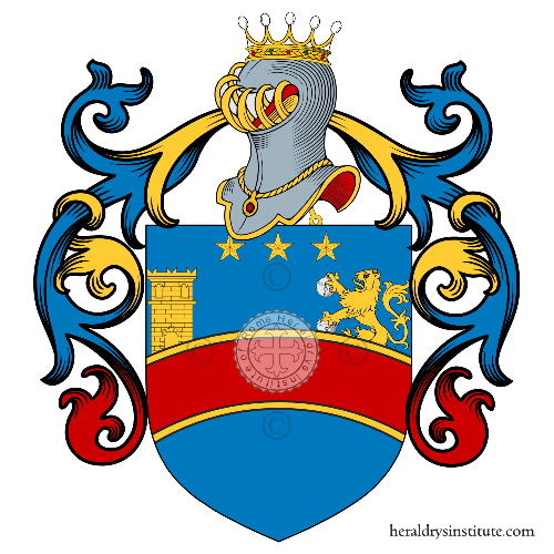 Coat of Arms of family Pampanelli