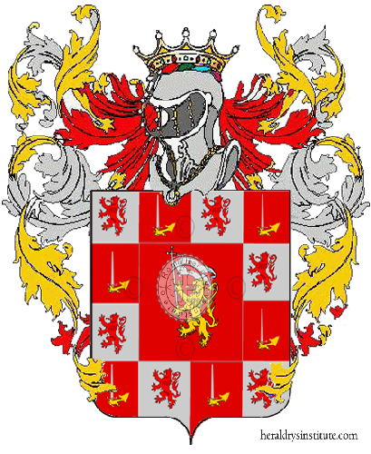 Coat of arms of family Emanuele