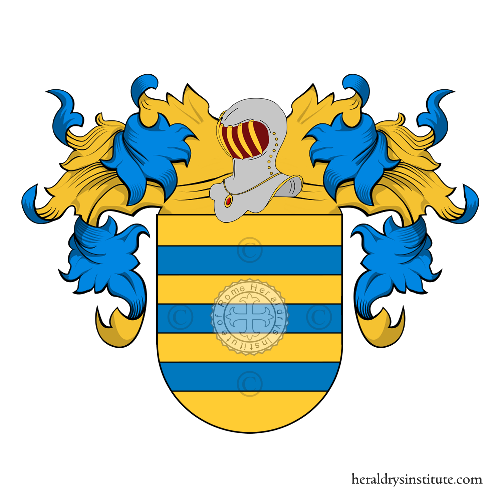 Coat of arms of family Trama