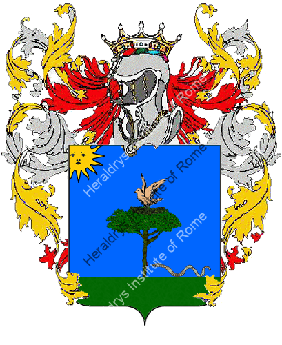 Coat of Arms of family Salvatti